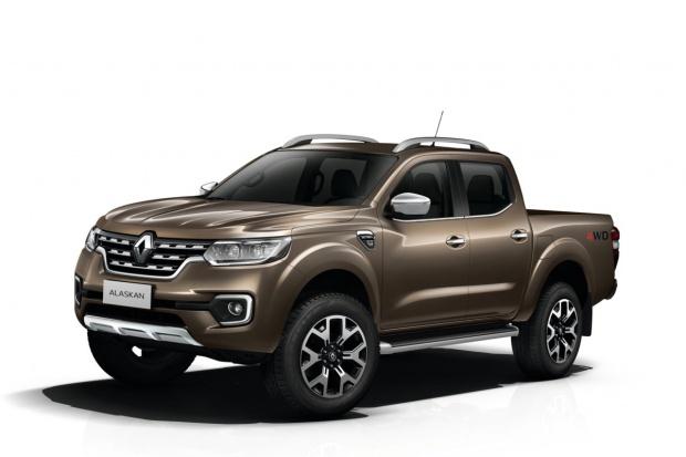 Kolumbijski start Renault Alaskan
