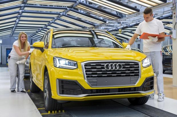 Nowe Audi z Ingolstadt