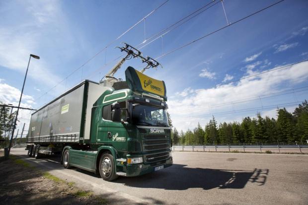 Testy elektrycznych ciężarówek Scania