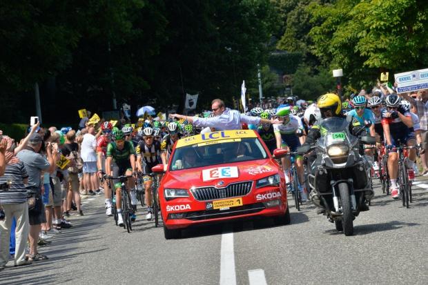 Skoda znowu z kolarzami na Tour de France