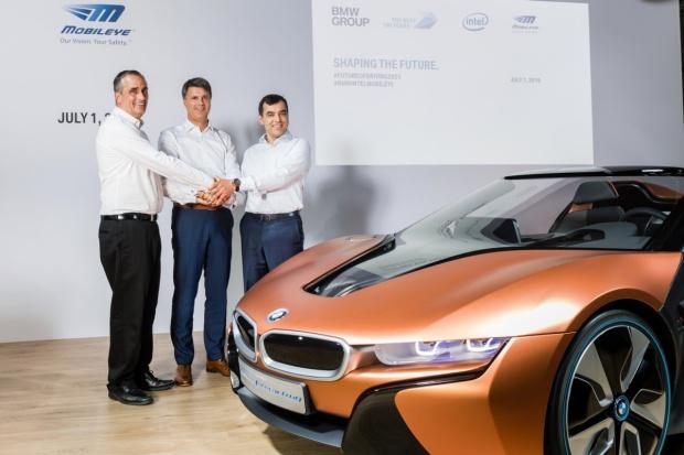 BMW, Intel i Mobileye: będą autonomiczne pojazdy