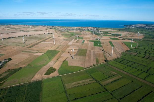 Nowy rekord Polski w udziale farm wiatrowych w produkcji energii