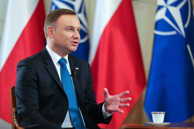 Prezydent: współpraca grupy Trójmorza potrzebuje wielkich projektów