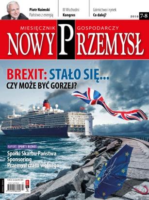 Magazyn Gospodarczy Nowy Przemysł 7-8/2016