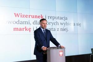 Dawid Jackiewicz, minister Skarbu Państwa. Fot. Mat. pras.