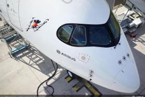 Airbus kontroluje jakość dronami