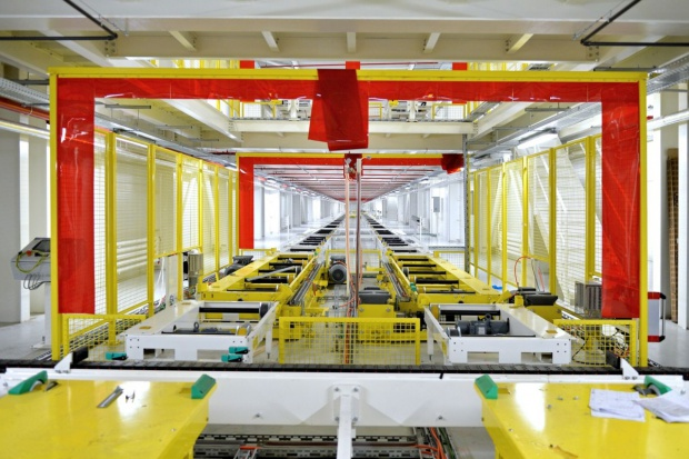 Skoda modernizuje hale produkcyjne