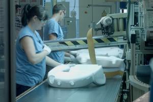 Produkcja pianki. Fot. PTWP