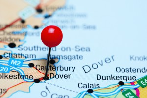 Gigantyczne kolejki przy wjeździe do Dover