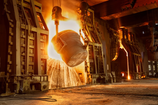 Większa produkcja stali w Chinach