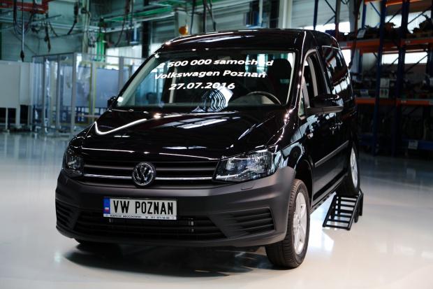 Volkswagen: 5 proc. wzrost sprzedaży samochodów użytkowych