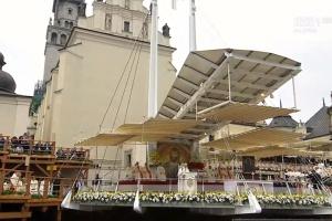 Na Jasnej Górze msza z udziałem papieża Franciszka