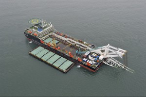 Nord Stream 2 z umową przedwstępną na ułożenie gazociągu