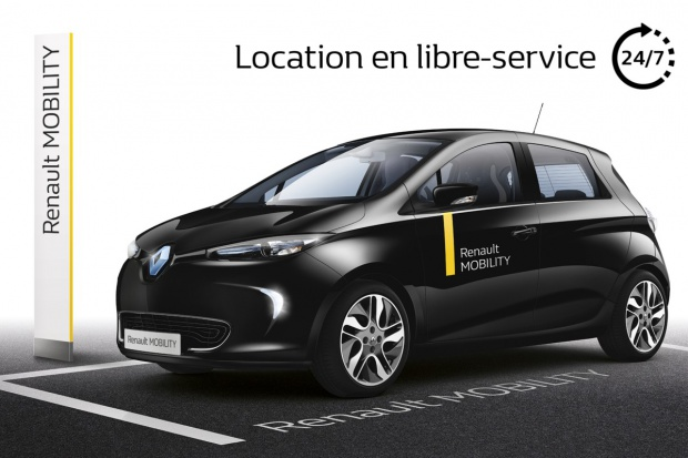 Grupa Renault upowszechnia usługę car-sharingu
