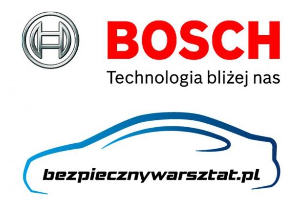 """Bosch w kampanii """"Bezpieczny Warsztat"""""""