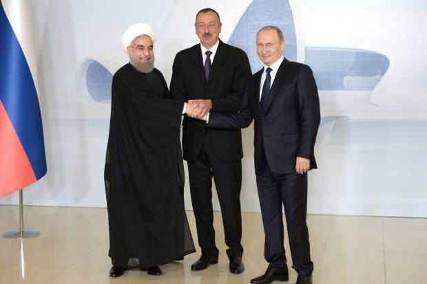 Rosja, Iran i Azerbejdżan deklarują bliską współpracę gospodarczą