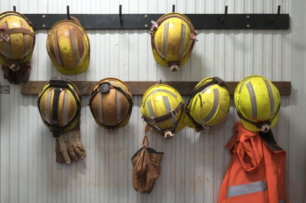 Ratownicy górniczy ćwiczyli w obiektach zabytkowej kopalni