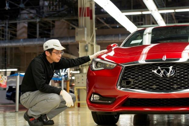 Infiniti rozpoczęło produkcję Q60 sports coupe
