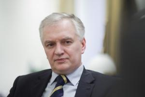 Jarosław Gowin nie poprze przedwyborczej zapowiedzi PiS