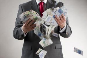 Pensja najlepiej zarabiającego prezesa banku wzrosła o 28 proc.