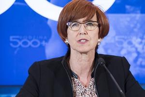 Minister Rafalska zwróciła się do PIP o kontrolę w Auchan