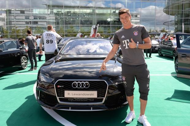Audi dla Lewandowskiego
