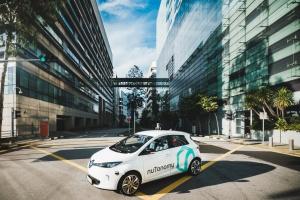 Autonomiczne taksówki już na ulicach Singapuru