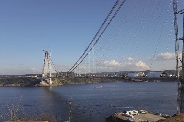 Otwarcie najdłuższego wiszącego mostu kolejowego na świecie