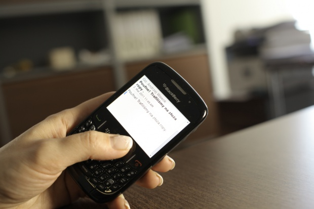 SMS-y wciąż popularne