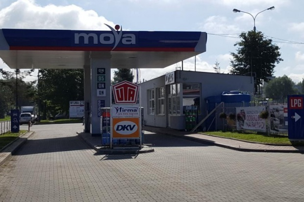 Stacja Moya na terenie Portu Gdańsk
