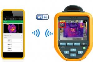 Rysunek 4. Komunikacja kamery termowizyjnej z aplikacją mobilną
