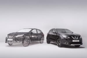 Model Nissana spod pióra... 3D