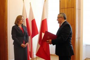 Justyna Skrzydło nową wiceminister infrastruktury i budownictwa