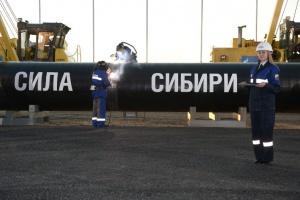 Siła Syberii gotowa w niespełna 10 procentach