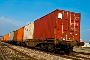 Warszawa na trasie pociągów intermodalnych UPS z Chin