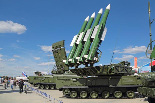 Wielkie targi zbrojeniowe pod Moskwą