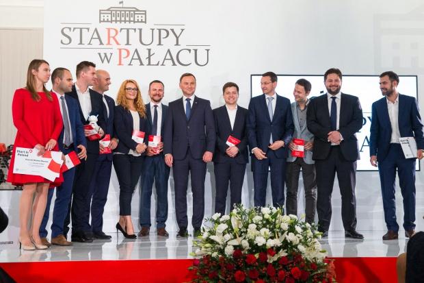 Prezydent: państwo powinno wspierać młode, polskie firmy