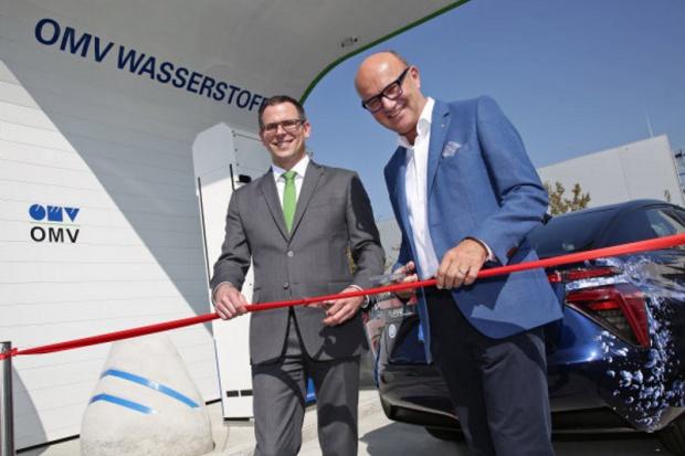 OMV otworzył trzecią stację tankowania wodoru w Austrii