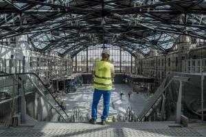 Długi spór na budowie dworca Łódź Fabryczna zakończony. Jest ugoda
