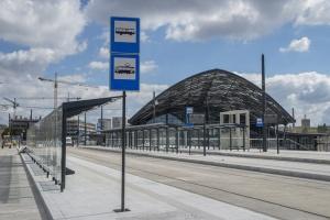 Zdjęcie numer 2 - galeria: Kolejowa inwestycja za 1,43 mld zł z problemami. Oto nowa Łódź Fabryczna
