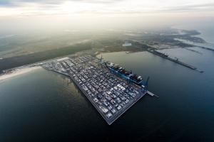DCT Gdańsk ma nowe nabrzeże kontenerowe