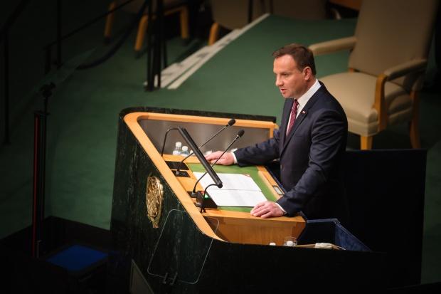 Prezydent wskazał w ONZ fundamenty zrównoważonego rozwoju