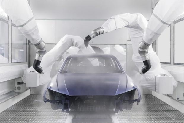 Lakiernia nowej ery w zakładzie Audi