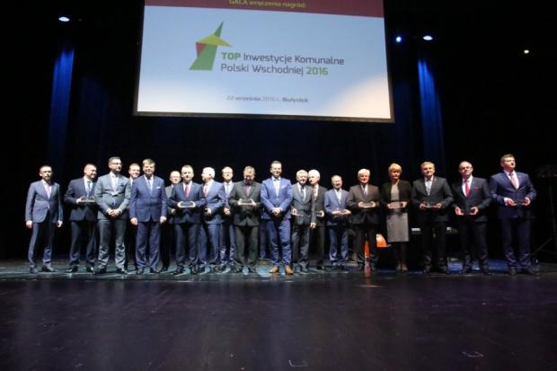 Nagrody Top Inwestycje Komunalne Polski Wschodniej wręczone. Oto laureaci