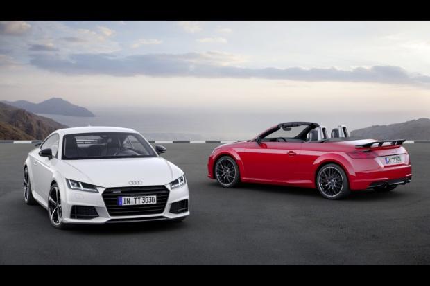 Audi TT S line - wizerunek sportowca