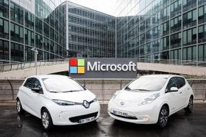 Renault-Nissan pod rękę z Microsoftem