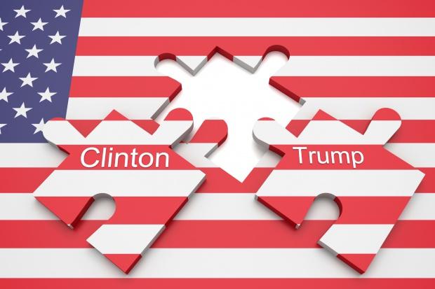 Pierwsza debata Clinton-Trump - brutalny pojedynek na słowa, dużo o gospodarce
