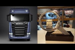 """Scania nowej generacji """"Ciężarówką Roku 2017"""""""