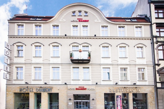 Hotel Diament Plaza w centrum Katowic zostanie rozbudowany