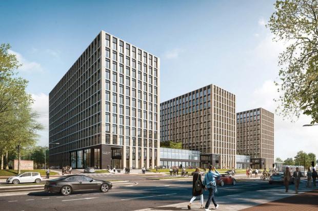 Ruszyła budowa dużego kompleksu biurowego w Krakowie